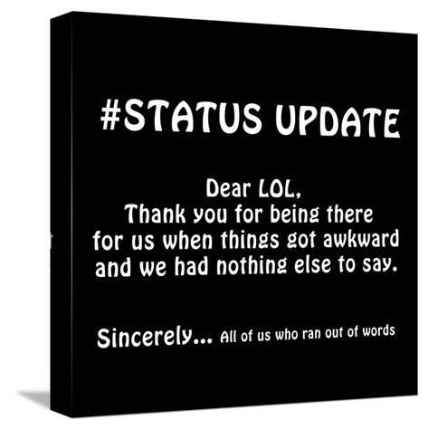 Status Update 2-Sheldon Lewis-Stretched Canvas Print