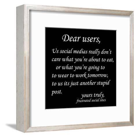 Stupid Post 1-Sheldon Lewis-Framed Art Print