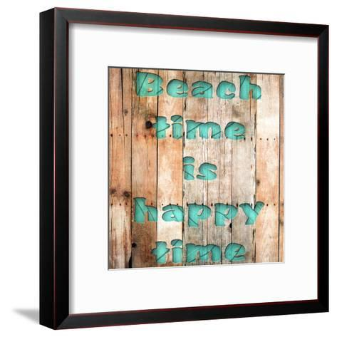 Wood Beach-Sheldon Lewis-Framed Art Print