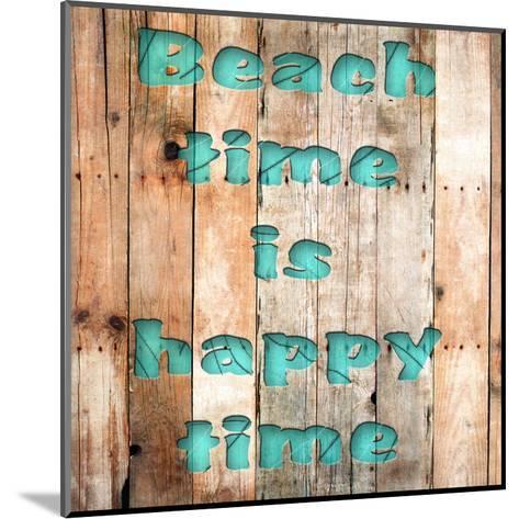 Wood Beach-Sheldon Lewis-Mounted Art Print