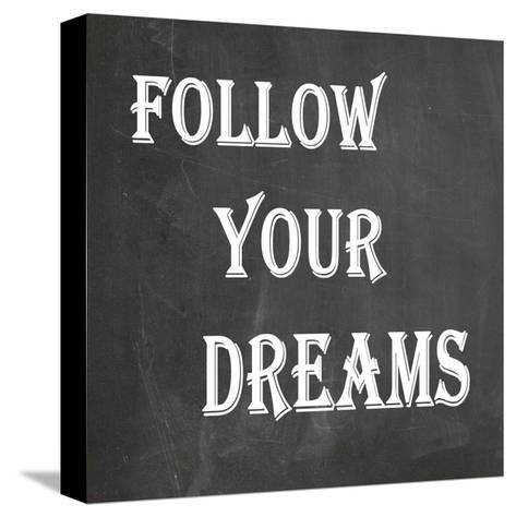 Your Dream-Jean Olivia-Stretched Canvas Print