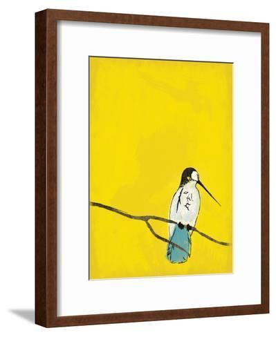 Yellow Bird-Jace Grey-Framed Art Print