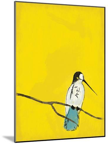 Yellow Bird-Jace Grey-Mounted Art Print