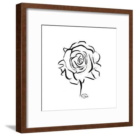 Floral Sketch-OnRei-Framed Art Print