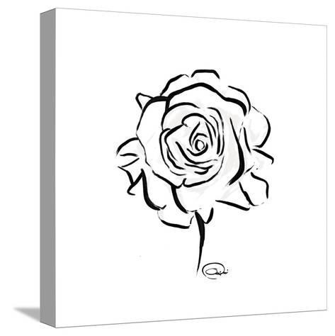 Floral Sketch-OnRei-Stretched Canvas Print