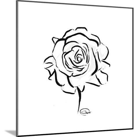 Floral Sketch-OnRei-Mounted Art Print