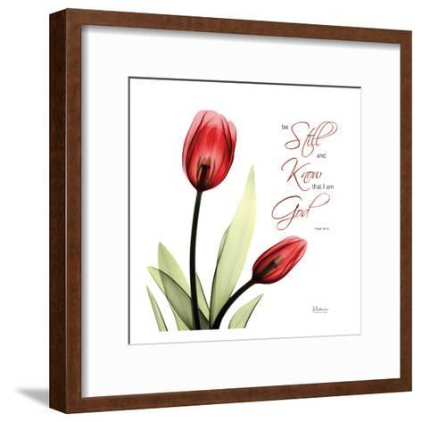 Be Still Tulip-Albert Koetsier-Framed Art Print