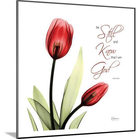 Be Still Tulip-Albert Koetsier-Mounted Art Print
