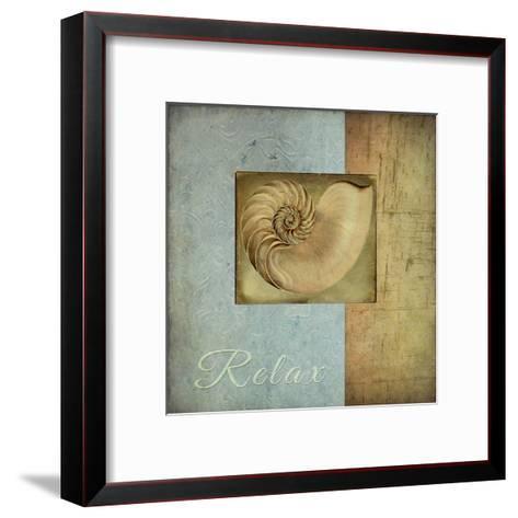 Spashell1-Tina Carlson-Framed Art Print