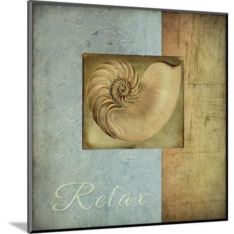 Spashell1-Tina Carlson-Mounted Art Print