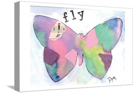 Fly Butterfly-Beverly Dyer-Stretched Canvas Print