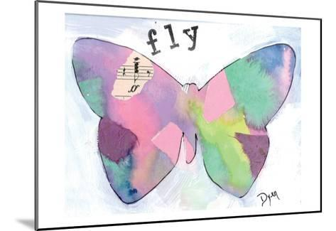 Fly Butterfly-Beverly Dyer-Mounted Art Print