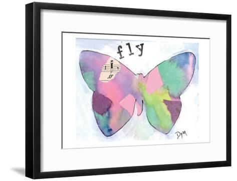Fly Butterfly-Beverly Dyer-Framed Art Print