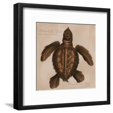 Mr. Brown-Tony Pazan-Framed Art Print