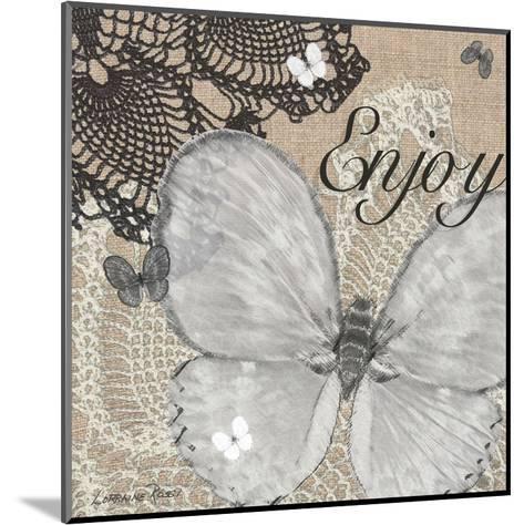 Butterfly Enjoy-Lorraine Rossi-Mounted Art Print
