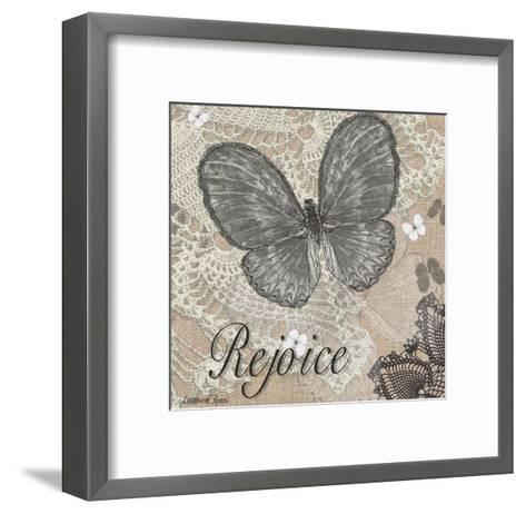 Butterfly Rejoice-Lorraine Rossi-Framed Art Print