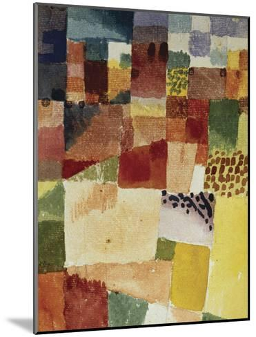 Motif from Hammamet, 1914 (No 48)-Paul Klee-Mounted Photographic Print