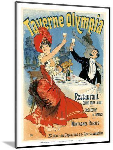 Taverne Olympia Art Nouveau, La Belle Époque-Jules Ch?ret-Mounted Art Print