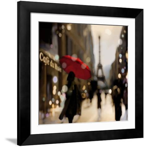 A Paris Stroll-Kate Carrigan-Framed Art Print