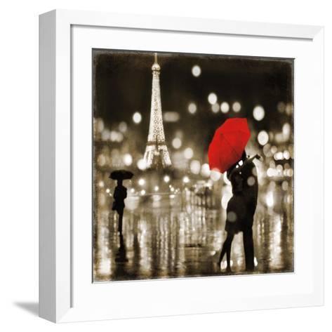 A Paris Kiss-Kate Carrigan-Framed Art Print