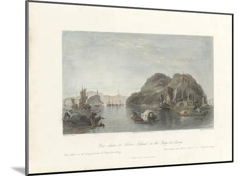 Yin-shan, or Silver Island, on the Yang-tse-keang-Thomas Allom-Mounted Premium Giclee Print