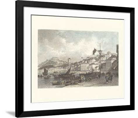 Macau- Antique Local Views-Framed Art Print