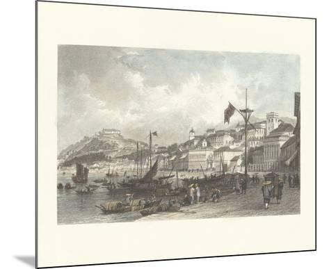 Macau- Antique Local Views-Mounted Premium Giclee Print