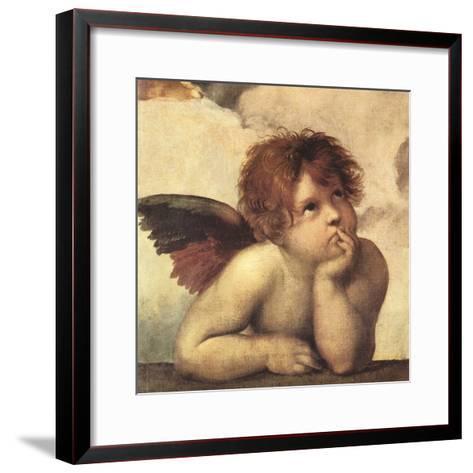 Cherubs - Detail I-Raphael-Framed Art Print