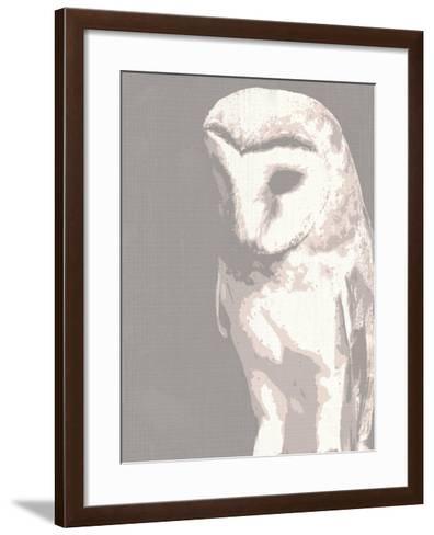 Barn Owl-Sasha Blake-Framed Art Print