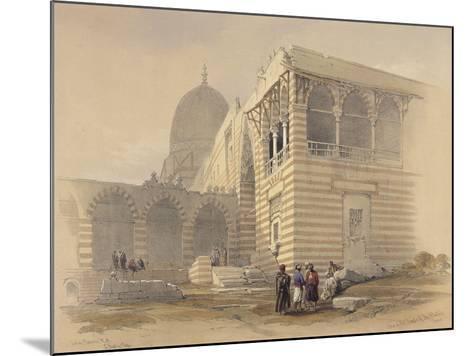 Tomb of the Khalifs-David Roberts-Mounted Giclee Print