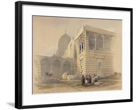 Tomb of the Khalifs-David Roberts-Framed Art Print