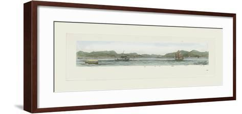 Stonecutters Island- Antique Local Views-Framed Art Print