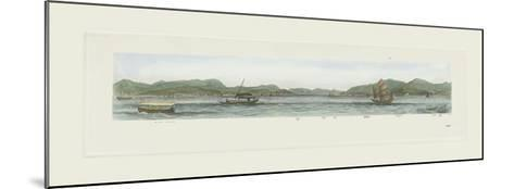 Stonecutters Island- Antique Local Views-Mounted Premium Giclee Print