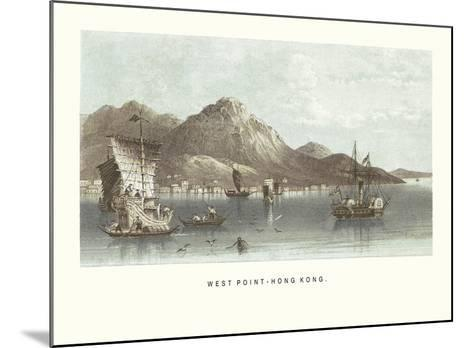 West Point - Hong Kong- Antique Local Views-Mounted Premium Giclee Print