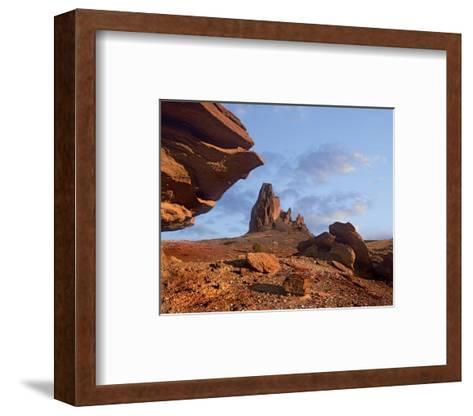 Rock formation, Monument Valley, Arizona-Tim Fitzharris-Framed Art Print