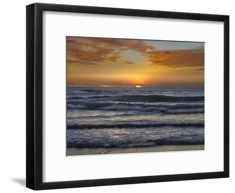 Sunset, Playa Langosta, Guanacaste, Costa Rica-Tim Fitzharris-Framed Art Print
