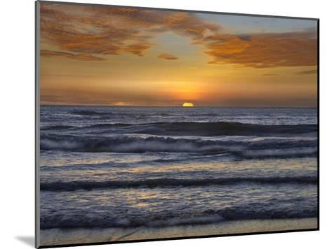 Sunset, Playa Langosta, Guanacaste, Costa Rica-Tim Fitzharris-Mounted Art Print