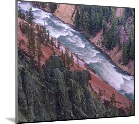 Yellowstone River, Yellowstone National Park, Wyoming-Tim Fitzharris-Mounted Art Print
