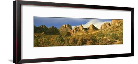 Panorama of Casa Grande National Monument, Arizona-Tim Fitzharris-Framed Art Print