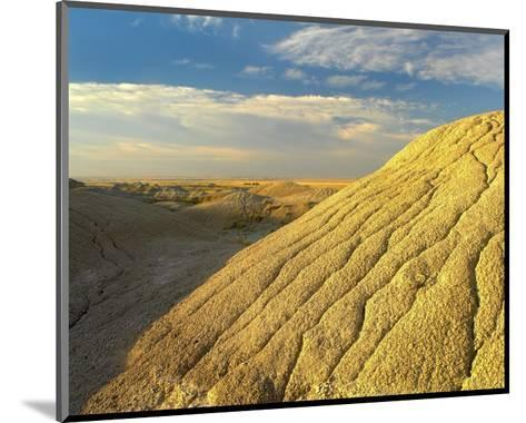Detail of erosional feature, Badlands National Park, South Dakota-Tim Fitzharris-Mounted Art Print