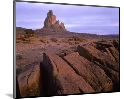 Agathla Peak, the basalt core of an extinct volcano, Monument Valley, Arizona-Tim Fitzharris-Mounted Art Print