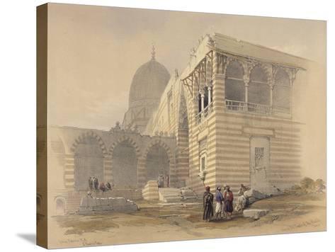 Tomb of the Khalifs-David Roberts-Stretched Canvas Print