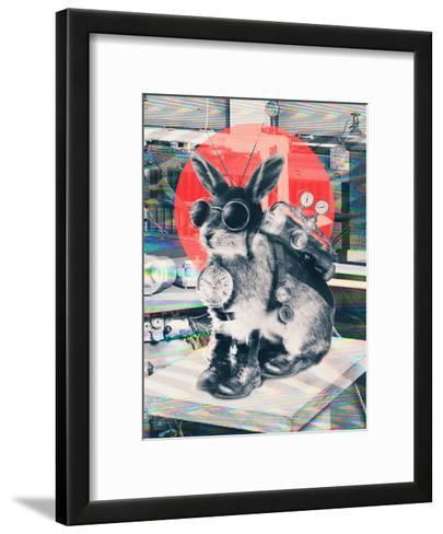 Time Traveller-Ali Gulec-Framed Art Print