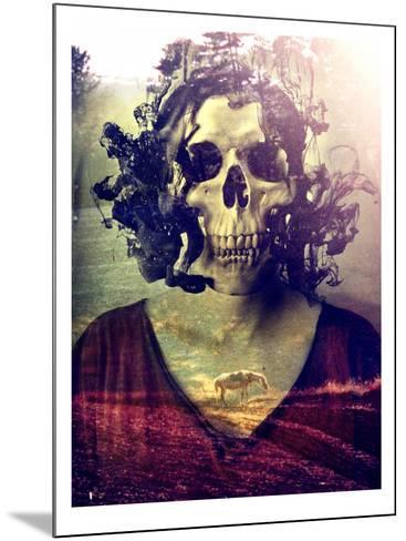 Miss Skull-Ali Gulec-Mounted Art Print