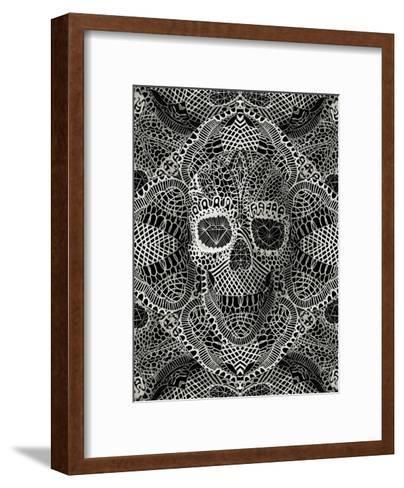 Skull Laces-Ali Gulec-Framed Art Print