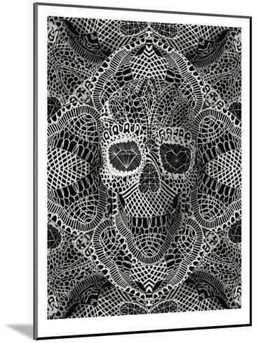 Skull Laces-Ali Gulec-Mounted Art Print