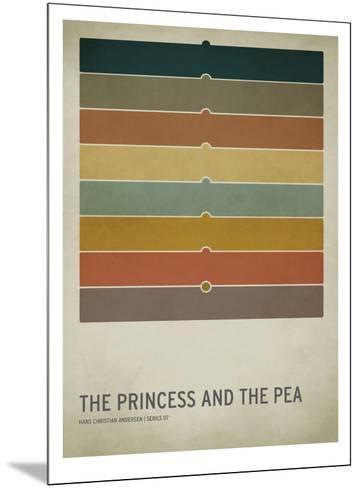 The Princess and the Pea-Christian Jackson-Mounted Art Print