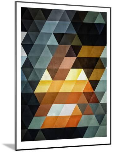 Untitled (gyld^pyrymyd)-Spires-Mounted Art Print