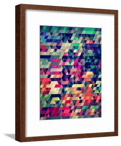 Untitled (Atym)-Spires-Framed Art Print