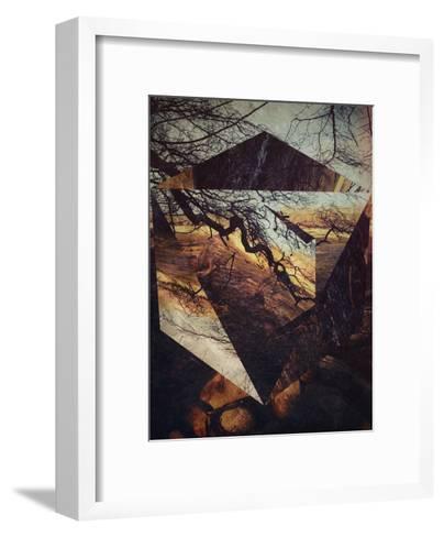 Untitled (drrtmyth)-Spires-Framed Art Print